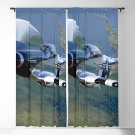 P51 Mustang Blackout Curtain