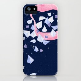 Your words are diamonds iPhone Case