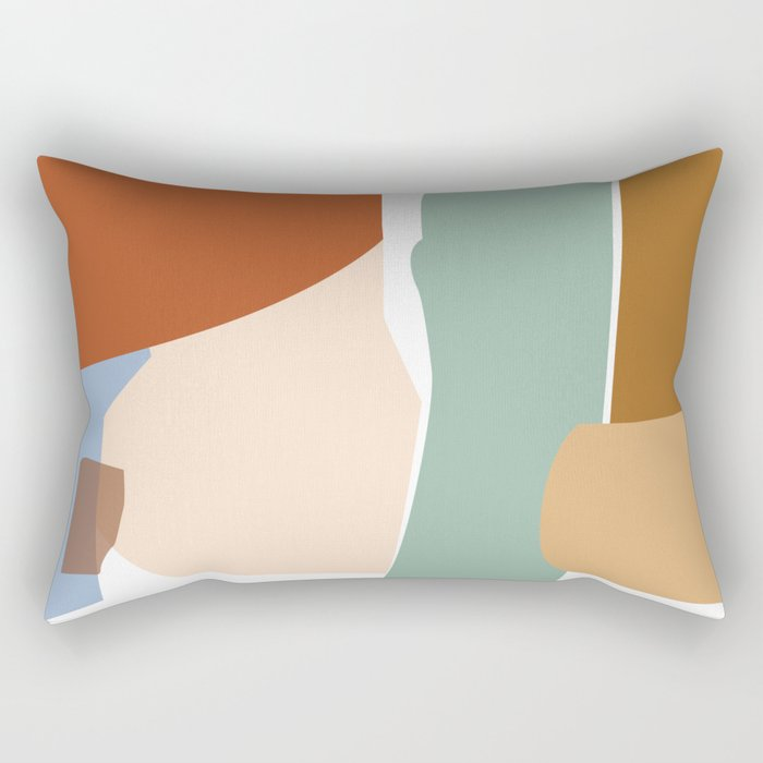 // Reminiscence 01 Rectangular Pillow