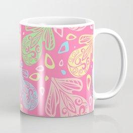 Funny flora pattern Coffee Mug