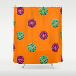 Jazz + Mint Shower Curtain