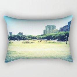 Chicago (outside Lincoln Park Zoo) Rectangular Pillow