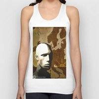 travel poster Tank Tops featuring Travel Poster by ben_biddiscombe