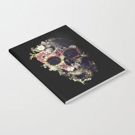 Garden Skull Notebook