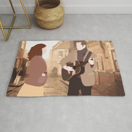 GUY AND GIRL – ONCE THE MUSICAL Rug