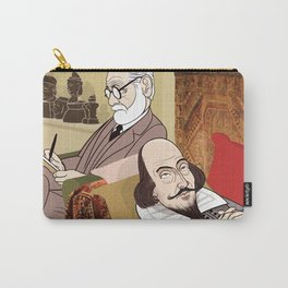 Freud analysing Shakespeare Carry-All Pouch