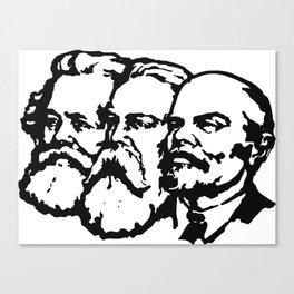 Lenin,Marks,Engels Canvas Print