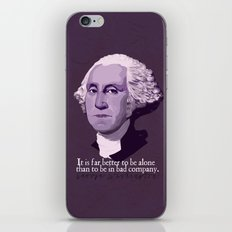 It Is Far Better To Be Alone iPhone & iPod Skin