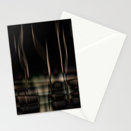 night reflections Stationery Cards