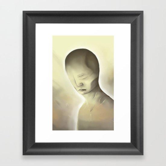 Disfigure Framed Art Print