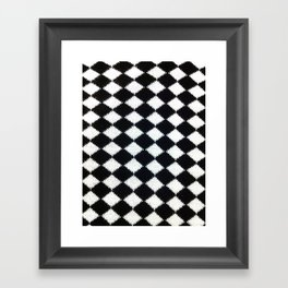 B & W Framed Art Print