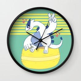Lugia and a Big Macaroon Wall Clock