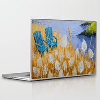 couple Laptop & iPad Skins featuring COUPLE by Olga Krokhicheva