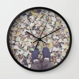 Feet Wall Clock