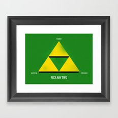 Project Triforce Framed Art Print