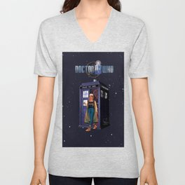 13th Doctor- Stetsons are Cool... Unisex V-Neck