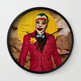 Dinner is Served! Wall Clock