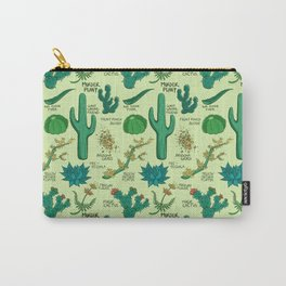Native Desert Plants Carry-All Pouch