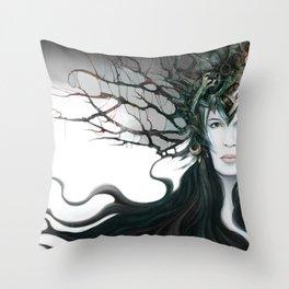 Kyrie Liaisons Throw Pillow