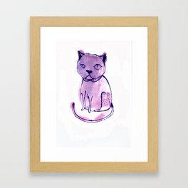 Are You Kitten Me?! Framed Art Print