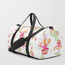 Cactus Family Day Duffle Bag