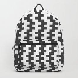 Stripe Dancer Grey Backpack