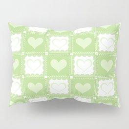 Love is Green Pillow Sham