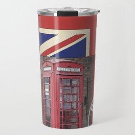 Great Britain London Union Jack England Travel Mug