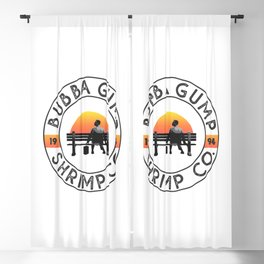 Bubba Gump Shrimp Company Blackout Curtain