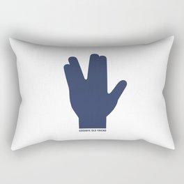 bye spock Rectangular Pillow