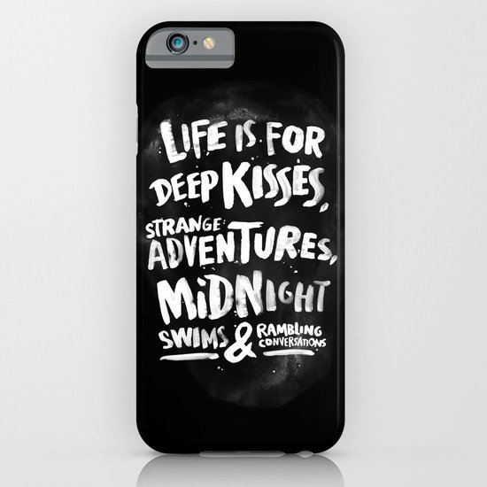 Life is for deep kisses... iPhone & iPod Case