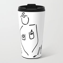 doctor with medicine utensils Travel Mug