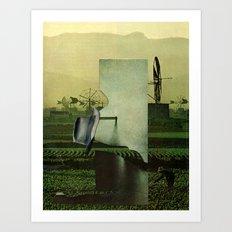 Work machine Art Print