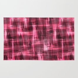 Abstract watercolor pattern. Rug