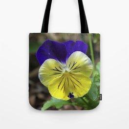Vivid Viola Tote Bag
