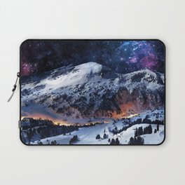 Mountain CALM IN space view Laptop Sleeve