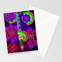 Fusion Keyblade Guitar #168 - Overdrive & Divine Rose Stationery Cards