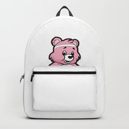 SOCCER Player TEDDY Bear Son Daughter Pit Cleats Backpack