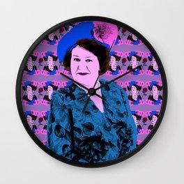 "TV Queens - Hyacinth Bucket - ""It's Pronounced Bouquet"" Wall Clock"