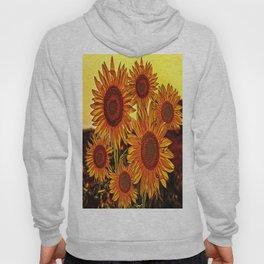 sunflowers family Hoody