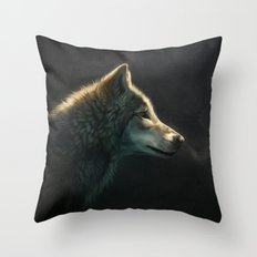 Into the Silence Throw Pillow