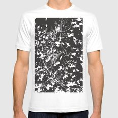 Dark ivy White Mens Fitted Tee SMALL