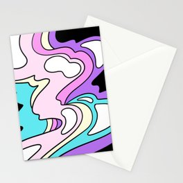 melty bubblegum Stationery Cards