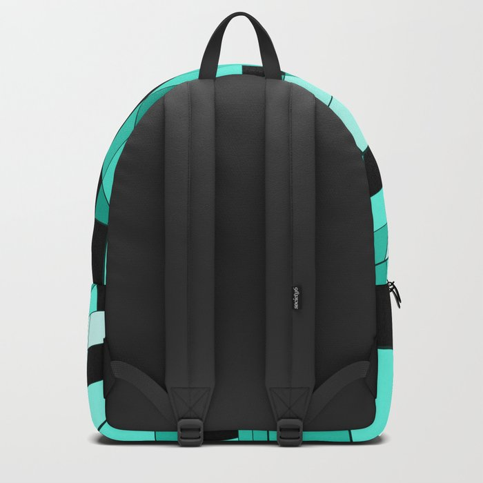 Rubik series 1, mint Backpack