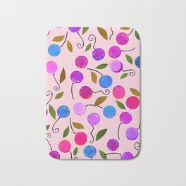 cherry-berrie jumble ... Bath Mat