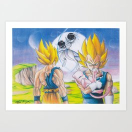 CrossOver Battle Art Print