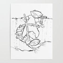 Ninja Master of Illusion Poster