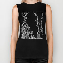 Dripping Swirls Biker Tank