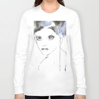 depression Long Sleeve T-shirts featuring Depression I by katimarco
