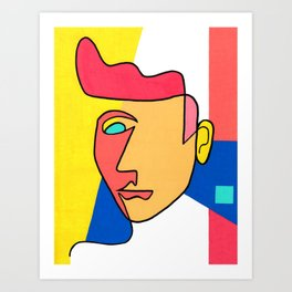 """Incomplete"" Art Print"